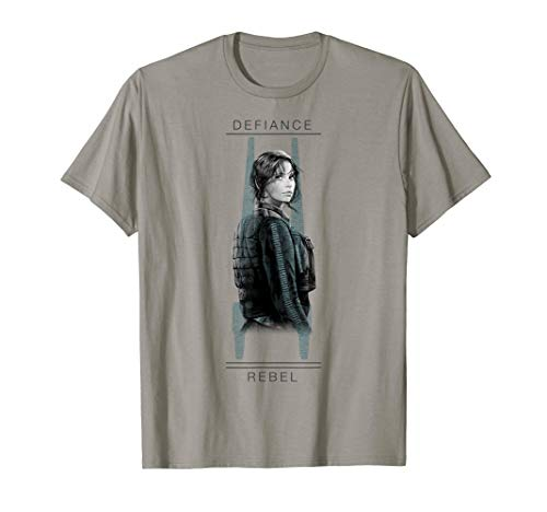 Star Wars Rogue One Jyn Defiance U-Wing Graphic T-Shirt