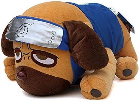 Juguetes de peluche de juguete de felpa de 40 cm s historieta del Anime Naruto Kakashi perro perros Pakkun Pakkun muñeca suave de la felpa animales de peluche Juguetes for niños regalos for niños