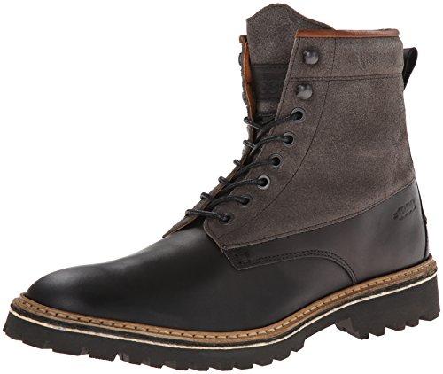 1883 by Wolverine Mens Tomas Plain Toe Fashion Sneaker Black