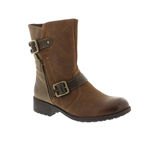 Earth Spirit Women's 27060 Composition Leather Ankle Boots jXfhK6xIX