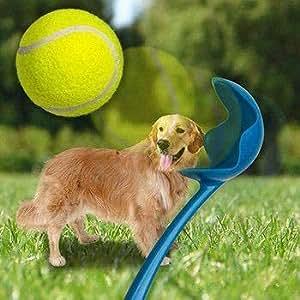 Amazon.com: Next Deal Shop Dog Tennis Ball Launcher: Pet