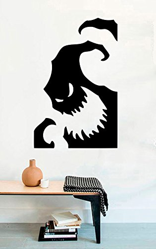 Oogie Boogie Halloween Vinyl Wall Decals Ghost Boo Nightmare Before Christmas Halloween Decor Stickers Vinyl Mural MK4437 -