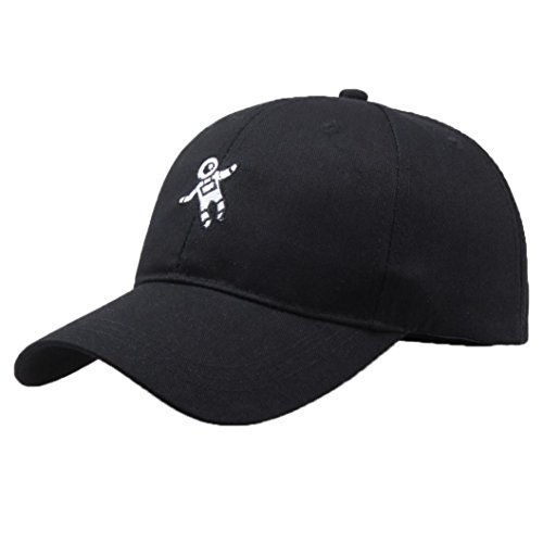 Limsea Unisex Fashion Hat Astronaut Emberoidery Baseball Hat Cap ()