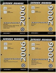 2006 chevrolet silverado gmc sierra and denali factory service rh amazon com 2007 GMC Sierra Repair Manual 2011 GMC Sierra Owner's Manual