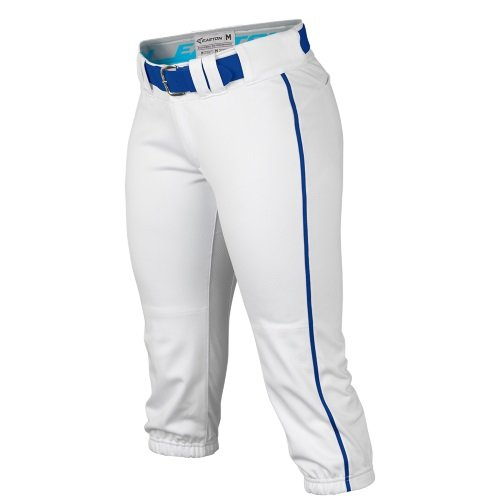 Piped Mesh - Easton Womens Prowess Piped Knicker Pant White/Royal L