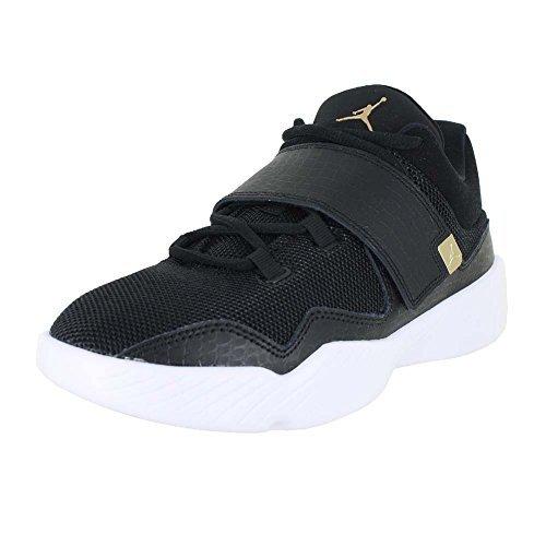 Image of NIKE Air Jordan J23 BG Basketball Trainers 854558 Sneakers Shoes (6 M US Big Kid, Black White Gold 004)