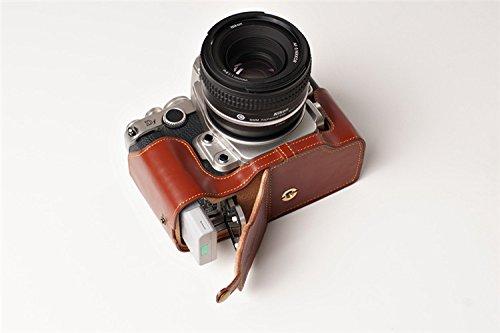 TP Nikon ニコン Df用本革カメラケース(電池,SDカード交換可) ブラウン  カメラケース&バッテリーケース B01K4PJSMQ
