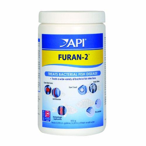 API FURAN-2 Fish Powder Medication 30-Ounce Bulk Box (Aquarium Pharmaceuticals Inc)