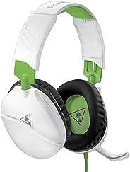 Fone De Ouvido Com Fio Turtle Beach Recon 70, Branco - Xbox One