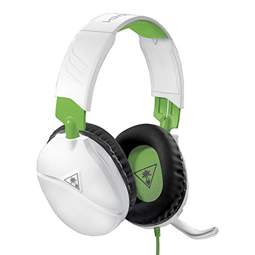 Turtle Beach Recon 70X White Gaming Headset – Xbox One, PS4, PS5, Nintendo Switch, & PC