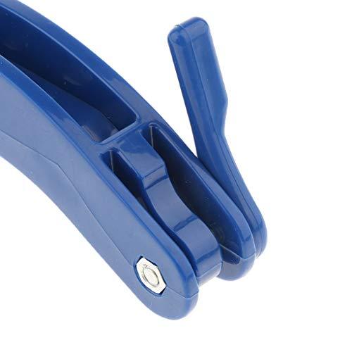 Schlüsseldrehhilfe Schlüsselgriff Schlüsselhalter für 2 Schlüssel blau