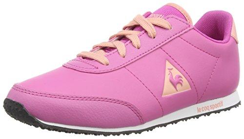 Le Coq Sportif Racerone Gs Syn Lea, Mädchen Sneakers Pink (ibis Rose)