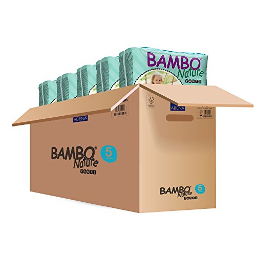Bambo Training Pants Junior: Size 5, Fits 26 lbs - 44 lbs , Absorbs 1055ml, 20/Bg, 5 Bgs/Cs or (Training Pants Farm)
