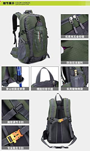 Amazon.com: 40L Waterproof Travel Backpack Camp Hike Mochilas Masculina Laptop Daypack Trekking Climb Back Bags: Computers & Accessories
