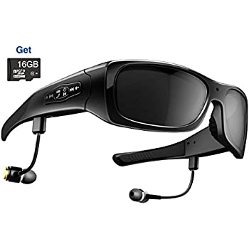 Amazon.com : MEGAVIEW HD Camera Glasses with 16GB SD Card