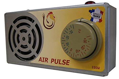 Calefactor para caseta de perro Air Pulse de 150 W: Amazon.es: Productos para mascotas
