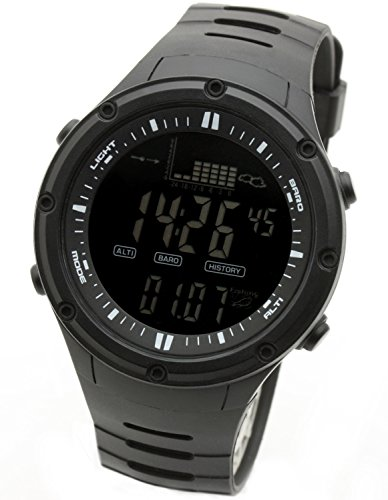 [LAD WEATHER] Fishing Storm Alarm Altimeter/Barometer/Weather Forecast/ thermometer Sport Watch