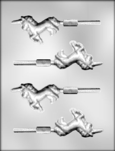 CK Products 3-Inch Unicorn Sucker Chocolate Mold