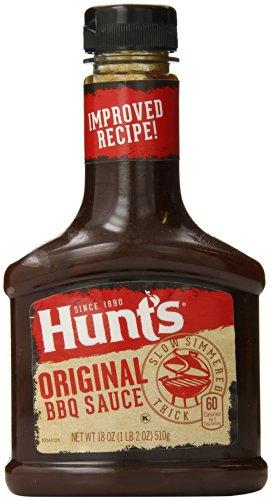 Hunt's Original BBQ Sauce, 18 Oz. (Pack of (Hunts Barbecue Sauce)