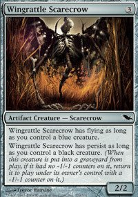 Magic: the Gathering - Wingrattle Scarecrow - Shadowmoor (Artifact Creature Scarecrow)