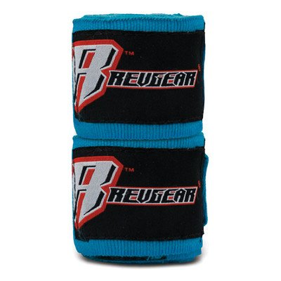 Revgear 180-Inch Elastic Hand Wraps, Turquoise