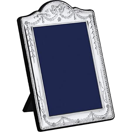 Carrs Antique Reproduction Sterling Silver Photo Frame 5x35 Inch