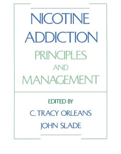 Nicotine Addiction: Principles and Management