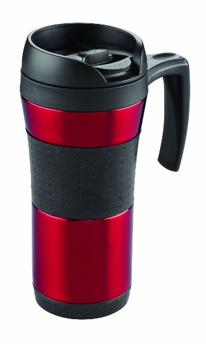 Copco Flair Stainless Steel Tumbler with Handle, 16-Ounce, B