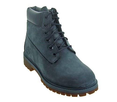 Timberland Kids Womens 6'' Premium Waterproof Boot (Big Kid) (5 M US, Orion Blue Waterbuck) by Timberland