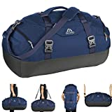 AIONE Duffel Backpack Bag 4-Way Sports Gym Backpack 45L/55L/65L Travel Luggage Bags with Shoe Compartments