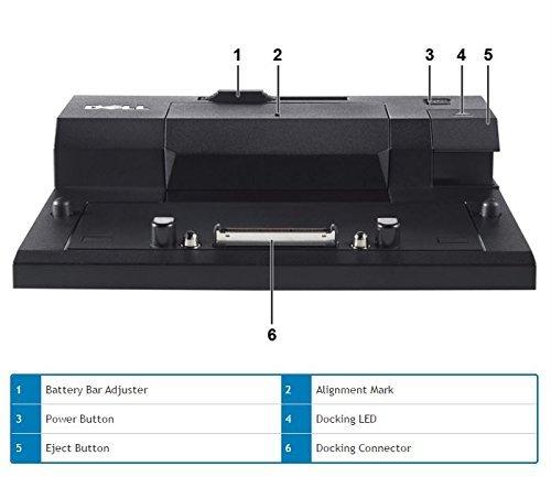 Dell E-Port Replicator 3.0 with 130W Power Adapter E Series Latitudes (PRO3X) by Dell (Image #2)