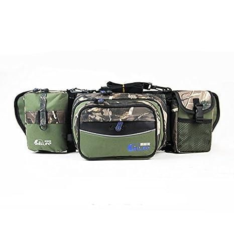 Amazon.com   61x18x14 CM Multifunctional Fishing Rod Bag Waist Bag ... ecb187f2e6c39