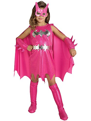 Rubie's Pink Batgirl Child's Costume, Medium ()