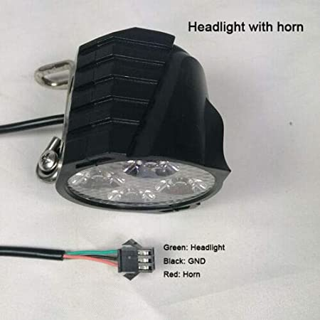Ebike Electric Bicycle Headlight Front Rear Taillight Turning//Brake Light /& Horn