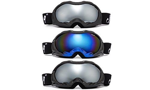 "Cloud 9 - Snow Goggles ""Cross-Rocket"" Adult Anti-Fog Dual Lens UV400 Snowboarding Ski"