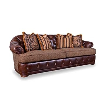 A.R.T. Furniture 505501 5004AA Kennedy Walnut Chesterfield Sofa,