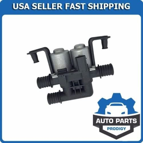 A//C Heater Water Control Valve Dual Solenoid for BMW Brand New Premium Quality