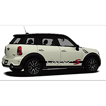 Amazon Com Mini Cooper S Side Decal Decal Set D Fit All Mini Models