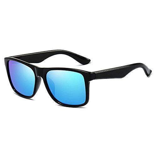 polarizadas Modo Gafas Azul de De Azul clásica de Visión Nocturna Colores de Retro Deporte Sol de Gafas ksung Cristal Mar de Azul Sol de YqIBn5ZA