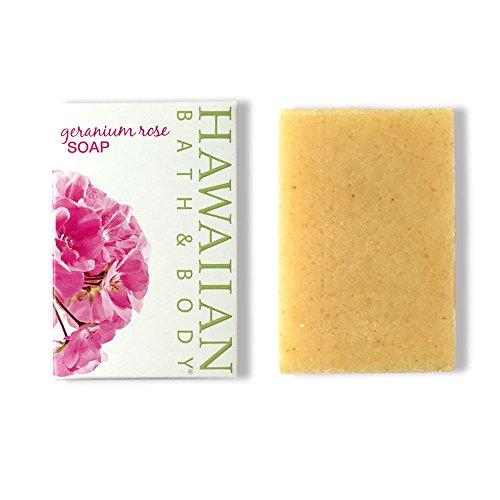 ラテン少なくとも形容詞ハワイアンバス&ボディ ゼラニウムローズソープ ( Geranium Rose Soap )