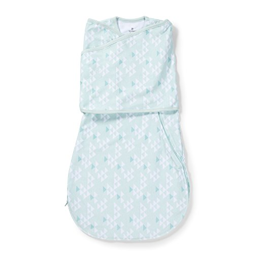 SwaddleMe Love Sack Tranquil Triangles