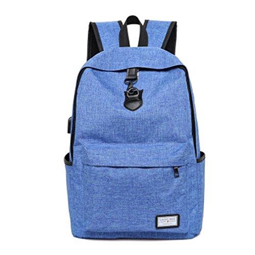 Cloth Buckle Storage Box Small (Blue) - 3