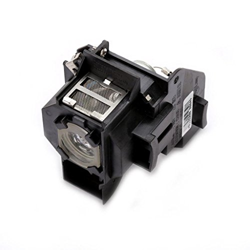 (Kingoo Excellent Projector Lamp for EPSON EMP-S4 EMP-S42 PowerLite S4 Replacement Projector Lamp Bulb with Housing)