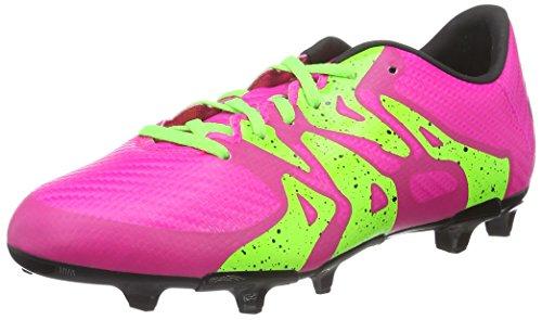 online retailer de8af 87508 adidas X 15.3 FG AG, Botas de Fútbol Niños Rosa (Shock Pink S16