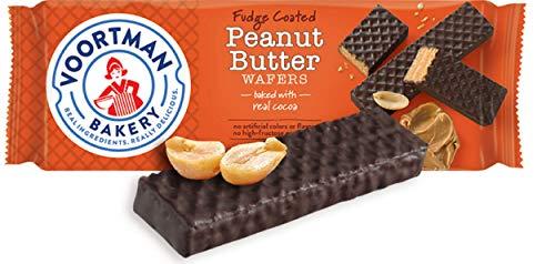 - Voortman Fudge Coated Peanut Butter Wafers (Pack of 4)