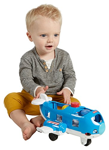 Fisher-Price Little People Travel Together Airplane Vehicle (Talking Action Pilot)