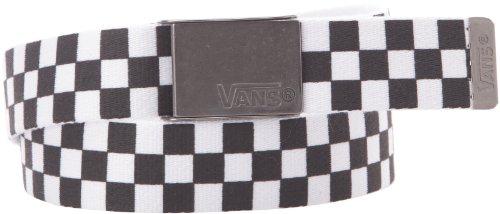 Vans Deppster Web Belt Black/White Mens One Size Fits (Belts Web Clothing Accessories)