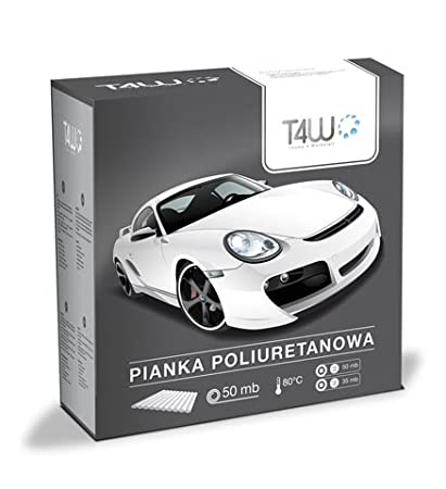 T4W Espuma de poliuretano cinta adhesiva para Auto barniz–13mm