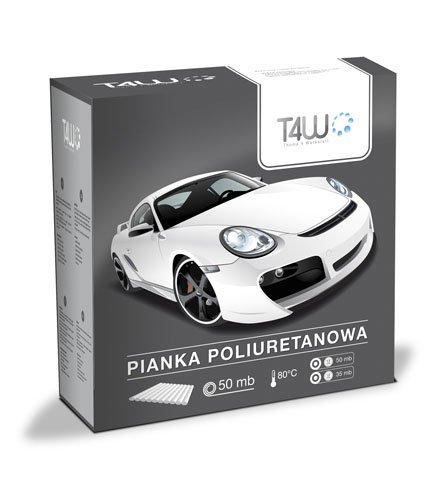 T4 W Espuma de poliuretano cinta adhesiva para Auto barniz - 13 mm: Amazon.es: Coche y moto