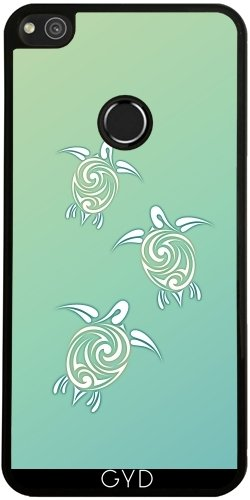Funda de silicona para Huawei P8 Lite 2017 - Tortugas Marinas Verdes by Nina Baydur